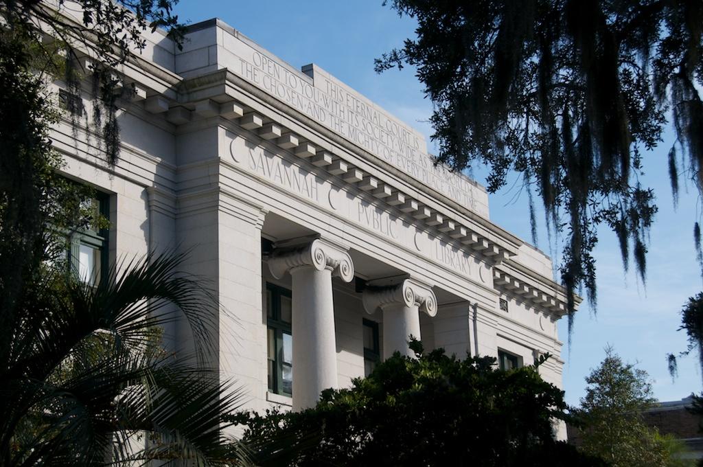 Savannah - Carnegie Library