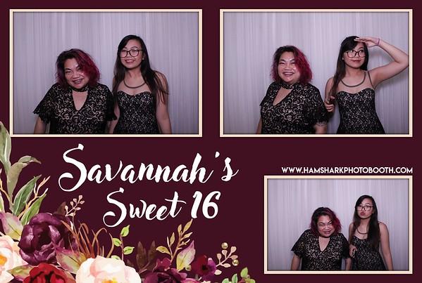 Savannah's Sweet 16