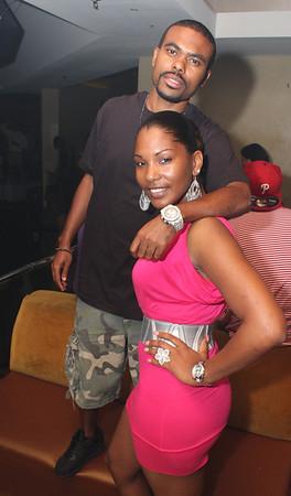 Lil' Duval(L) & Miss MemphisMecca 09'(R)