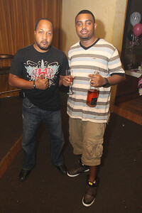 Patrick C (L) & DJ Rock steady