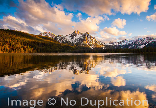 Stanley Lake and Mt. McGown, Sawtooth Mountains, Idaho