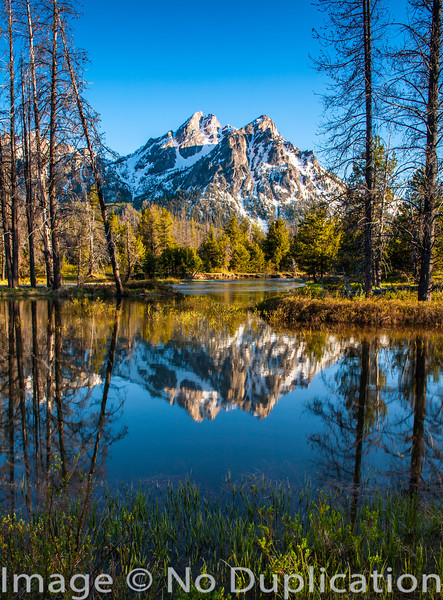 Mt. McGown, Sawtooth Mountains, Idaho