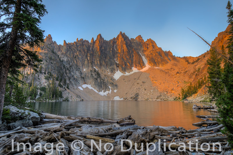 Mountain Heyburn, Sawtooth Wilderness, Sawtooth Mountains, Sawtooth National Recreation Area