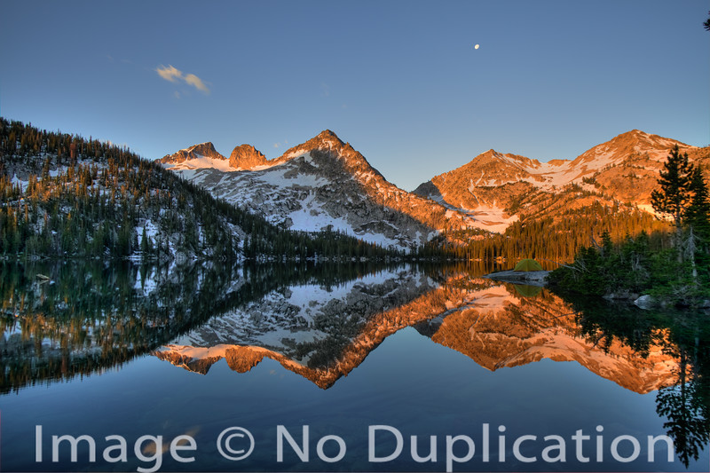 Toxaway Lake in the Sawtooth Wilderness, Idaho