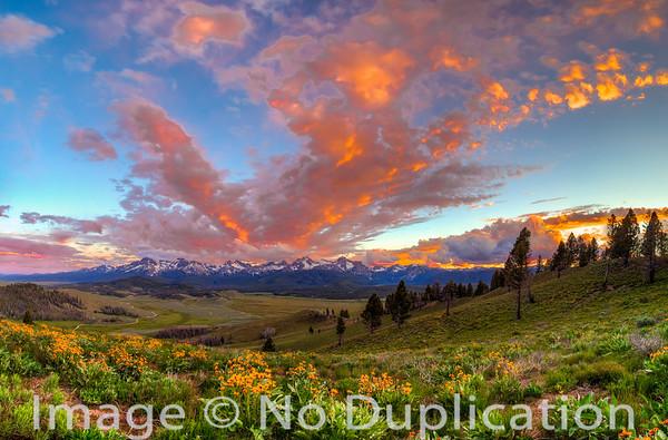 Sawtooth Mountains, Sawtooth National Recreation Area