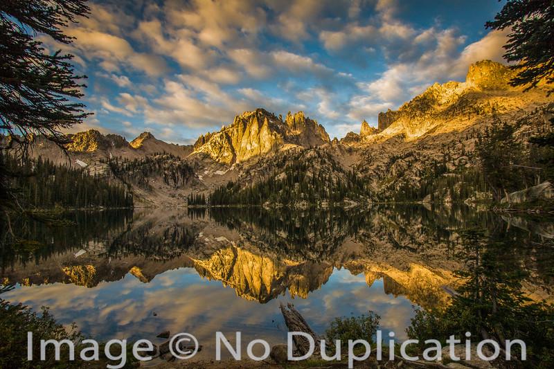 Baron Lake, Sawtooth Wilderness, Idaho