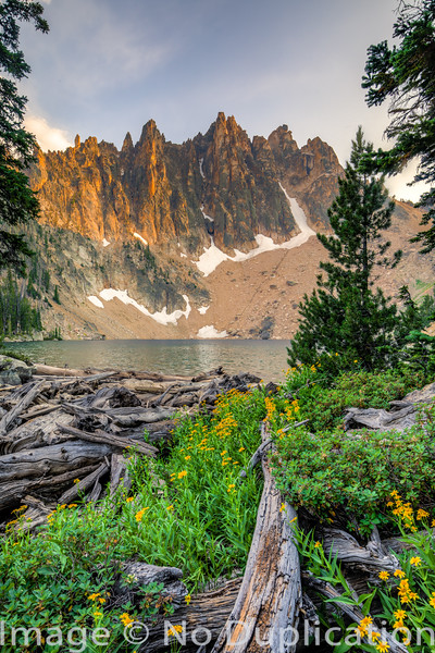 Mount Heyburn, Sawtooth Mountains, Sawtooth National Recreation Area