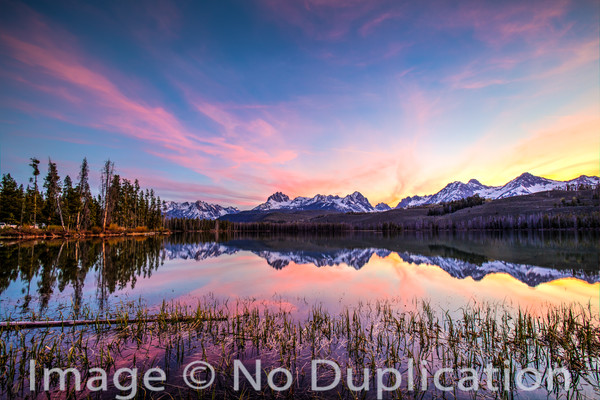 Little Redfish Lake, Sawtooth Mountains, Sawtooth National Recreation Area