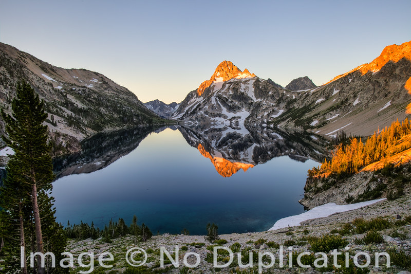 Sawtooth Lake Sunrise