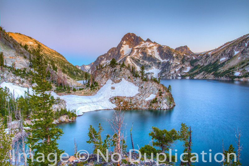 Sawtooth Lake, Sawtooth Wilderness, Sawtooth Mountains, Sawtooth National Recreation Area