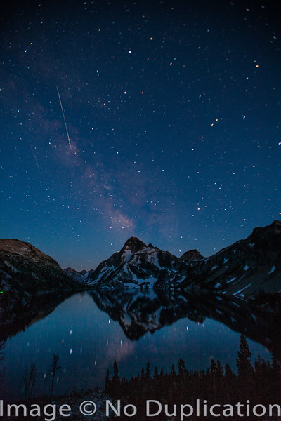 Sawtooth Lake Starscape
