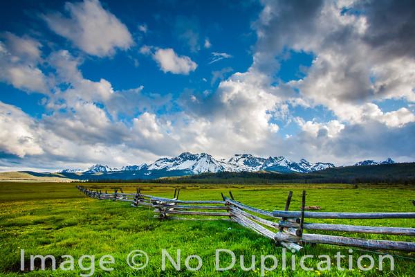 The Sawtooth Mountains, Idaho