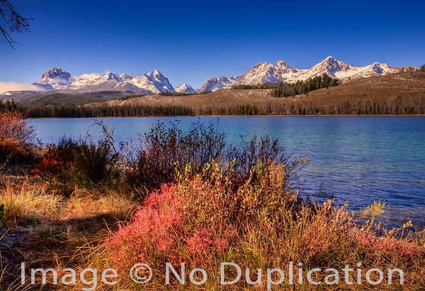 Little Redfish Lake, Sawtooth Mountains, Idaho