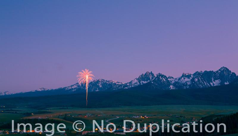 Stanley Idaho Fireworks