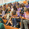 A sea of purple!