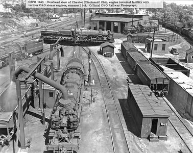 Historic photo of the C&O of Indiana Cheviot/Summit yard