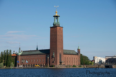 Stockholm - City Hall as seen from Gamla Stan