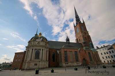 Stockholm - Riddarholmen Church on Gamla Stan