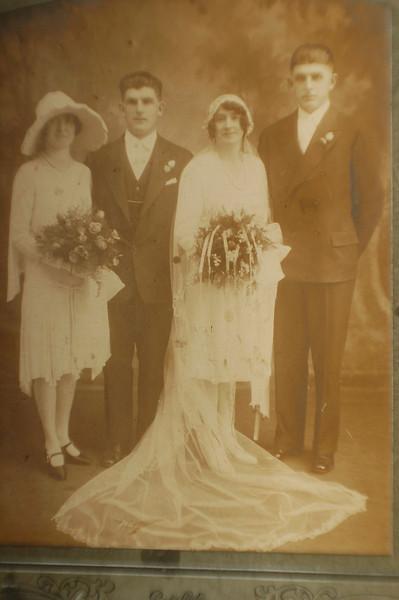 Kathryn Moran Granata and her husband at wedding of Mary Moran Shea and John Shea