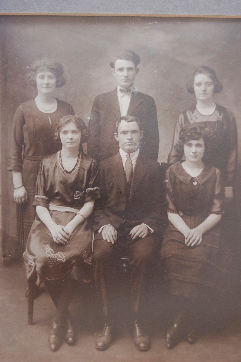 Moran Family, 1920 Vintage.  Dad is seated in front.