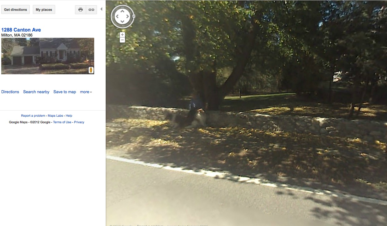 Mike Moran from GoogleEarth. However, my two collie dogs got better camera exposure than I.<br /> <br /> Mike Moran