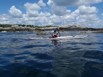 Scarborough Maine to Higgins Beach w/NSK 8/4/2013
