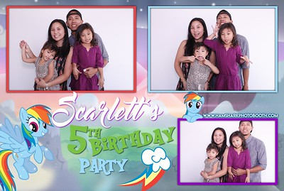 Scarlett's 5th Birthday