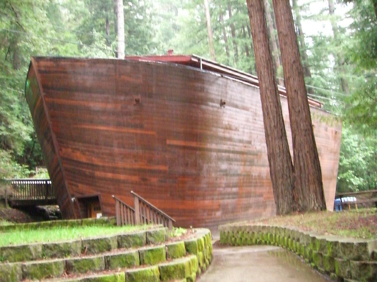 2006 02 19 Sun - WCC - The Ark @ Redwood Christian Park - angle