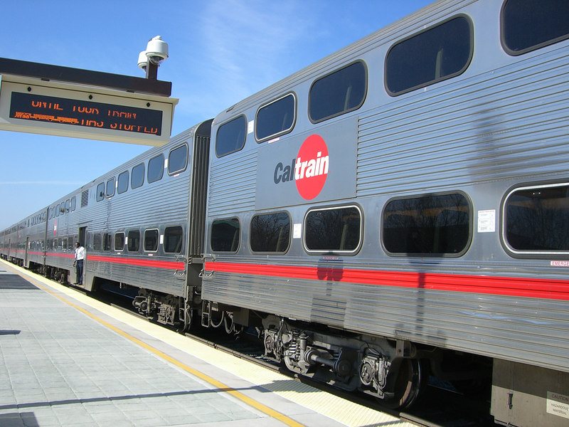 2006 02 24 Fri - CalTrain - Old romance of trains