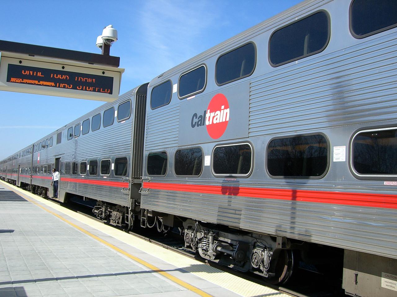 2006 02 24 Fri - CalTrain - Old romance of trains
