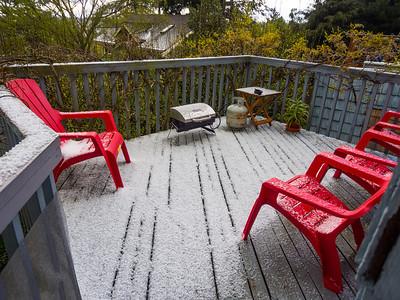 Hail in April!
