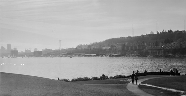 1930's Agfa Ansco Captain modified to take 120 film test in Gasworks Park