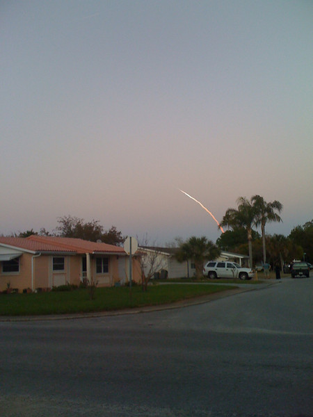 Shuttle Launch March 2009 - taken with iPhone camera