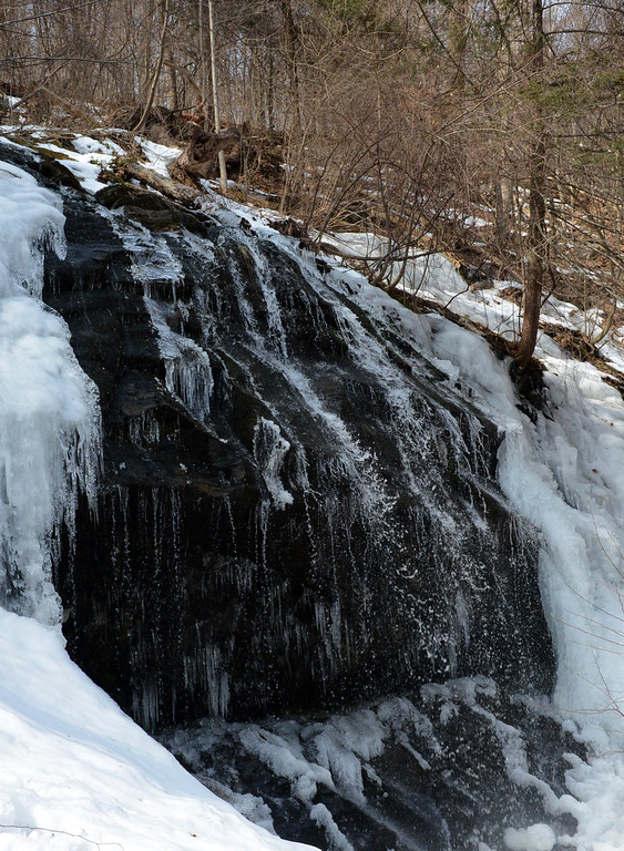 . Tania Barricklo-Daily Freeman Waterfall at Shaupeneak Ridge Trail in Esopus off of Rt. 9W.