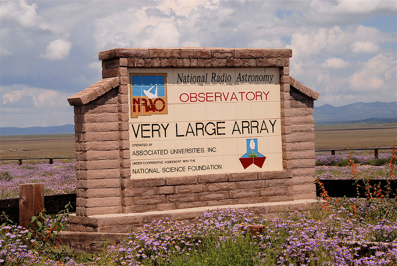 The Very Large Array in Magdalena, NM