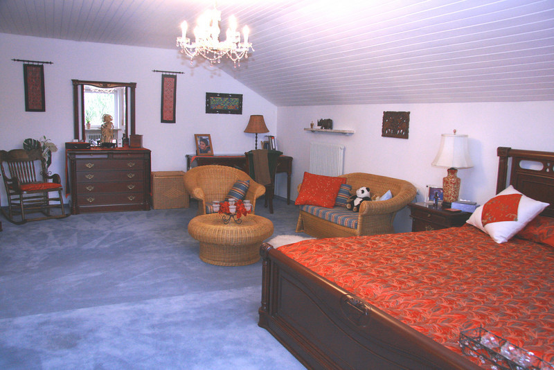 Main bedroom seating area