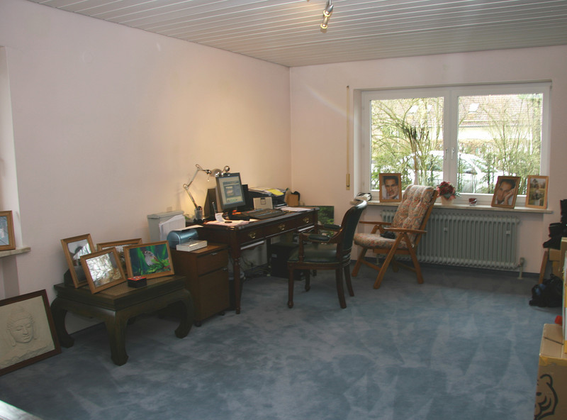 Office - probably the only room not finished!