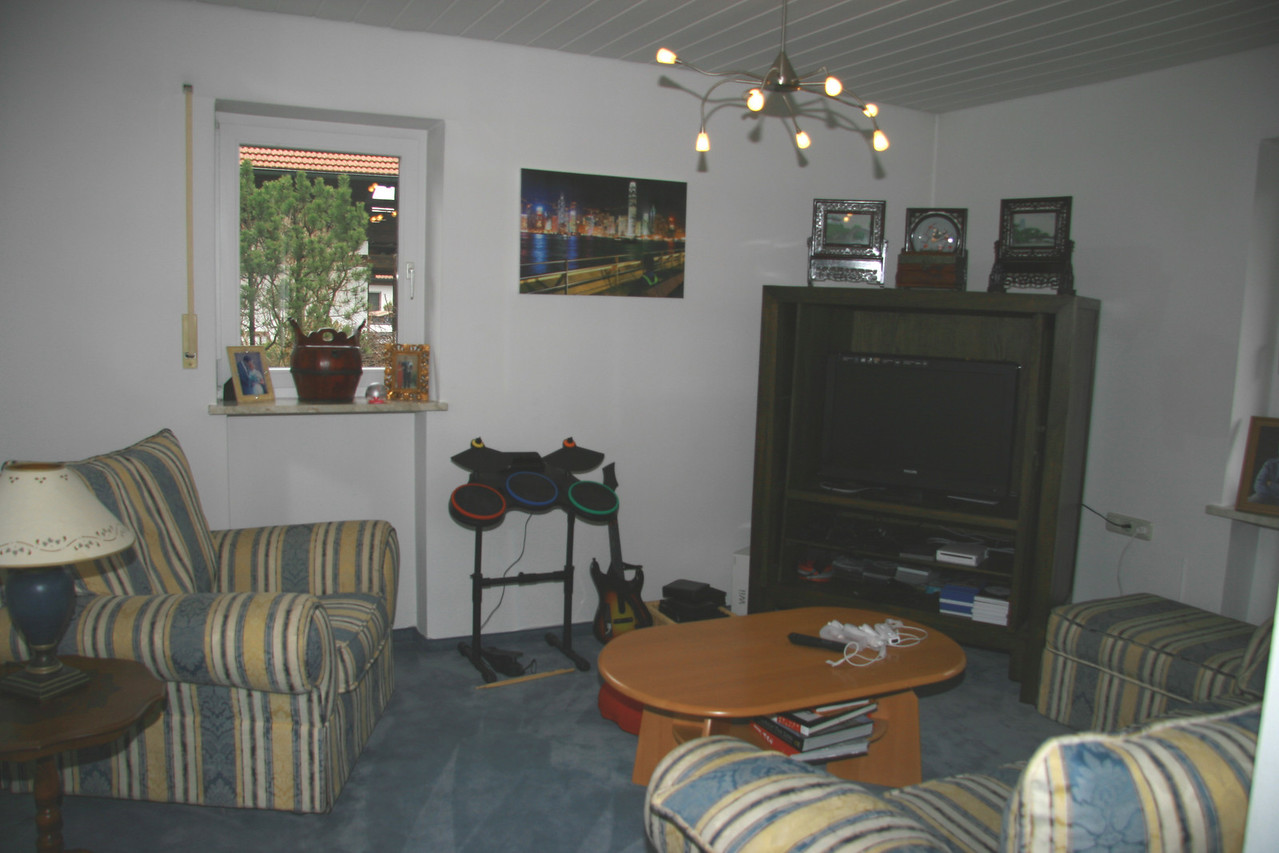 Olivers TV and games room