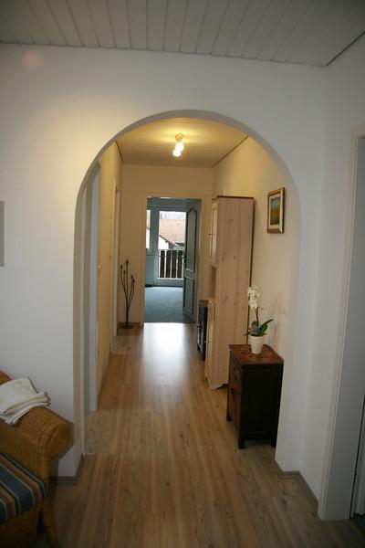 Upstaires hall way