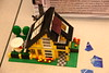 My LEGO solar powered home! (yes, that is a solar cell on the roof, and yes, it does actually power some LEDs inside!)