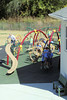 The students enjoyed exploring the playground at ESA's Lower School.