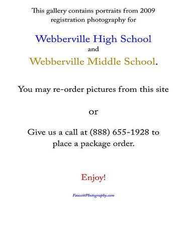 Webberville MS HS Registration