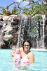 Lilly and Mom forv Lilly's 1st swim!
