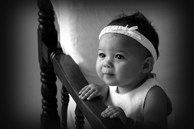 Mommy had a little 8 month photoshoot for Lilly.