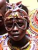 A beautiful girl from the Maasai Tibe