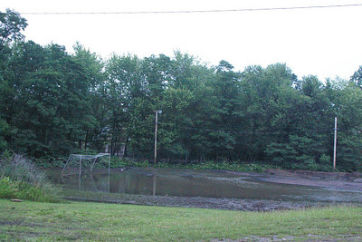 Schuylkill Haven: Lower soccer field at Island Recreation Complex