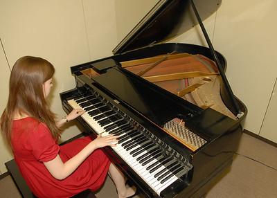 Schwarz Piano