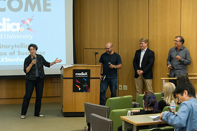 "That's a wrap on the ""Science Storytelling & the Paradox of Suspense"" Seminar.  Photo Credit: Chris Wesselman"
