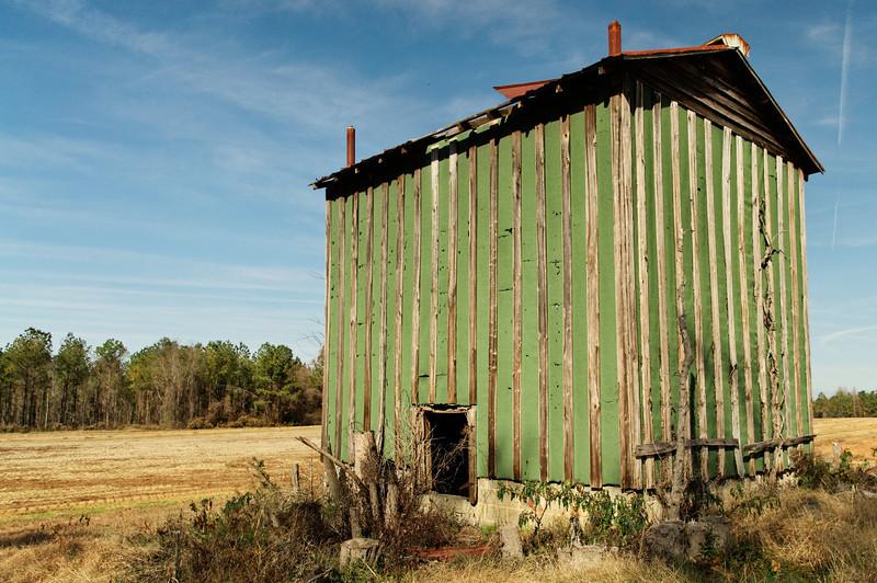 Purvis Farm Tobacco Barn III