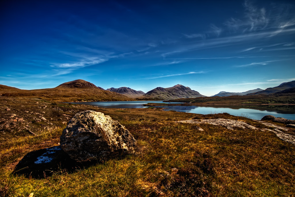 Sunny Scotland